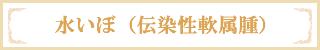 水いぼ(伝染性軟属腫)